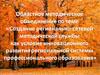 «Создание регионально-сетевой методической службы как условие инновационного развития региональной системы профессионального образования»